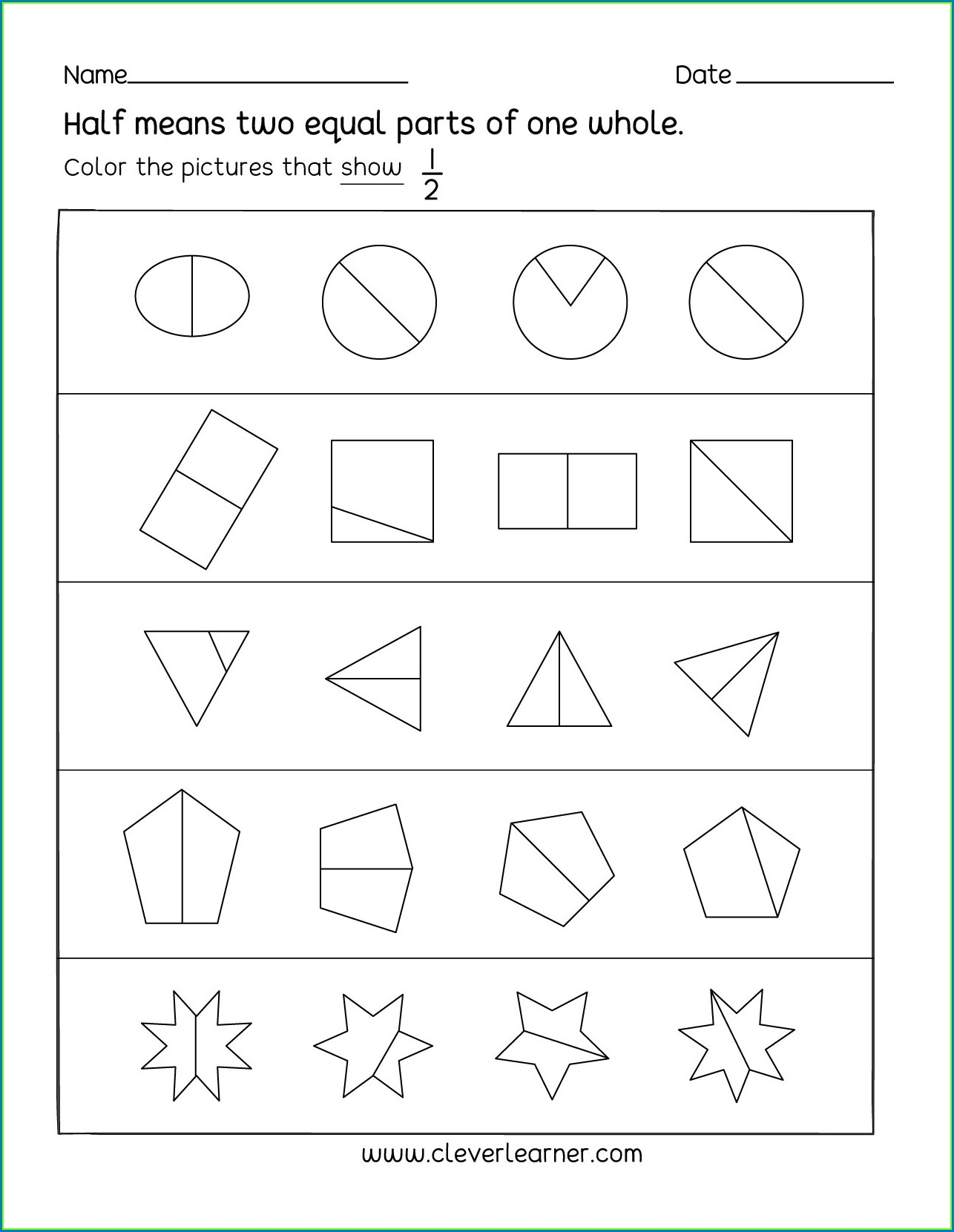 Halving 3 Digit Numbers Worksheet