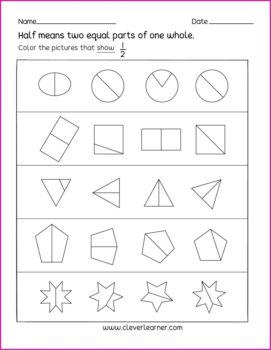 Matching Alphabet Worksheet For Kindergarten