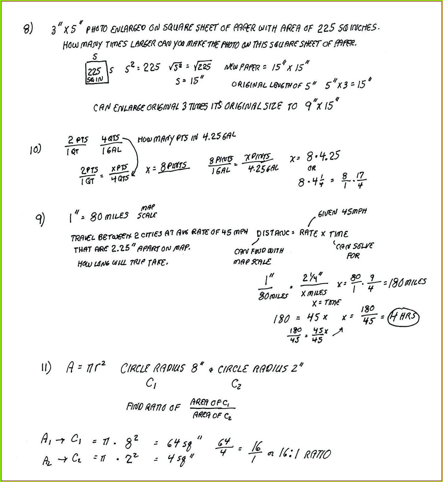 Whos Who Math Worksheet Answers