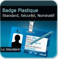 Badge publicitaire