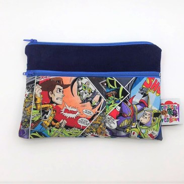 Trousse double zip Toy Story