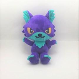 Peluche loup violet
