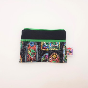 Trousse double zip Zelda