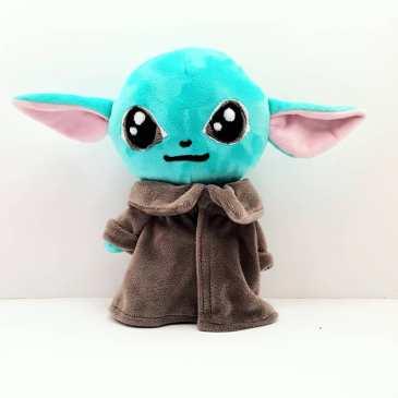Peluche Baby Yoda menthe