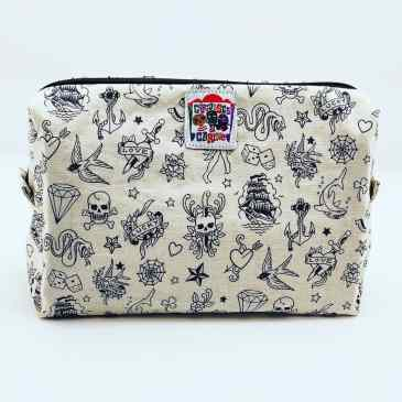 Trousse de voyage mini tattoos old school