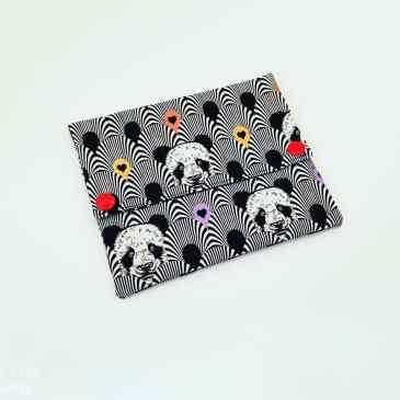 Pochette à savon Panda