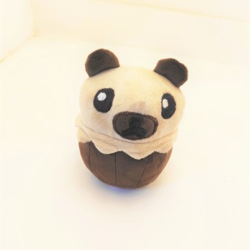 Peluche ours cupcake