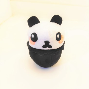 Peluche panda cupcake
