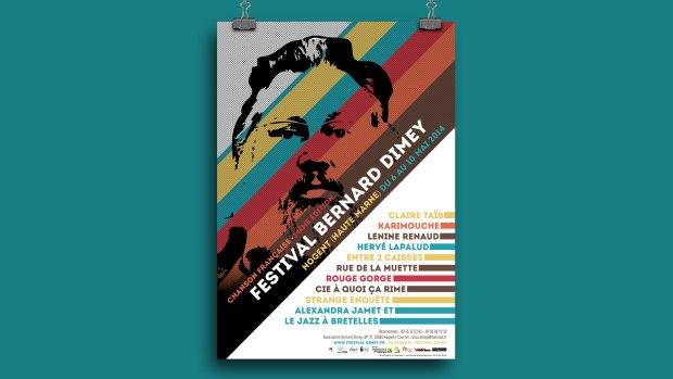 Affiche du Festival Bernard Dimey 2014