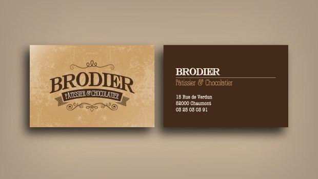 Carte de Visite Brodier