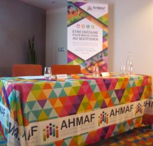 Nappe personnalisée AHMAF