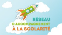 Logo Réseau d'Accompagnement à la Scolarité