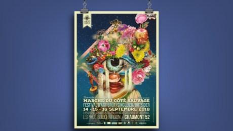 Affiche Les Inouis Curieux 2018 / Les Hameçons Cibles