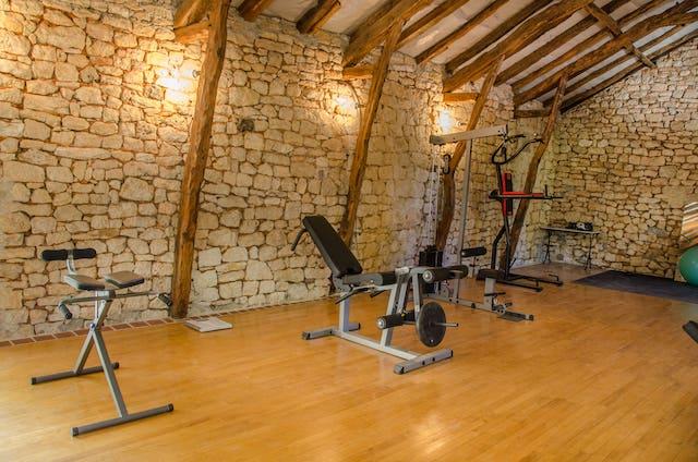 maison d'hotes avec salle de fitness les hauts de saulies