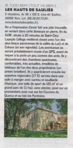 Figaro Les Hauts de Saulies