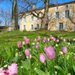 jardin de Saulies au printemps