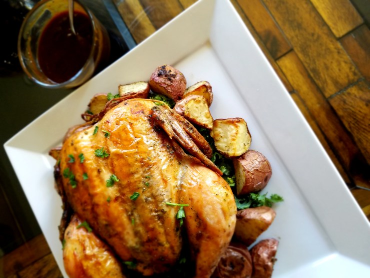 Herb Roasted Chicken w/ Traditional Gravy