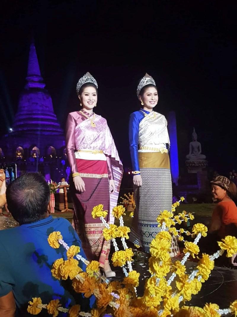 Thaïlande, festival de Si Satchanalaï🎆 15