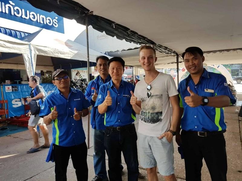 Thaïlande, quand tu deviens la star d'un évènement Suzuki ⭐ 12