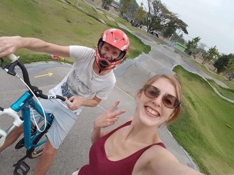 Thaïlande, passage de la frontière du Cambodge avec nos motos 125cc 🛵 1