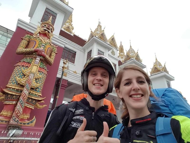Thaïlande, passage de la frontière du Cambodge avec nos motos 125cc 🛵 7