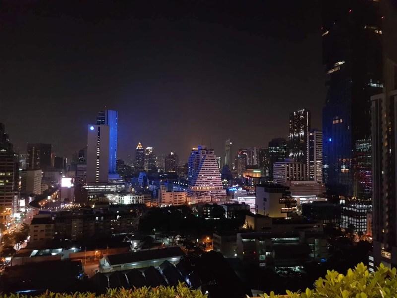 Thaïlande, coucher de soleil depuis le rooftop du Furama Hotel 🌇 11