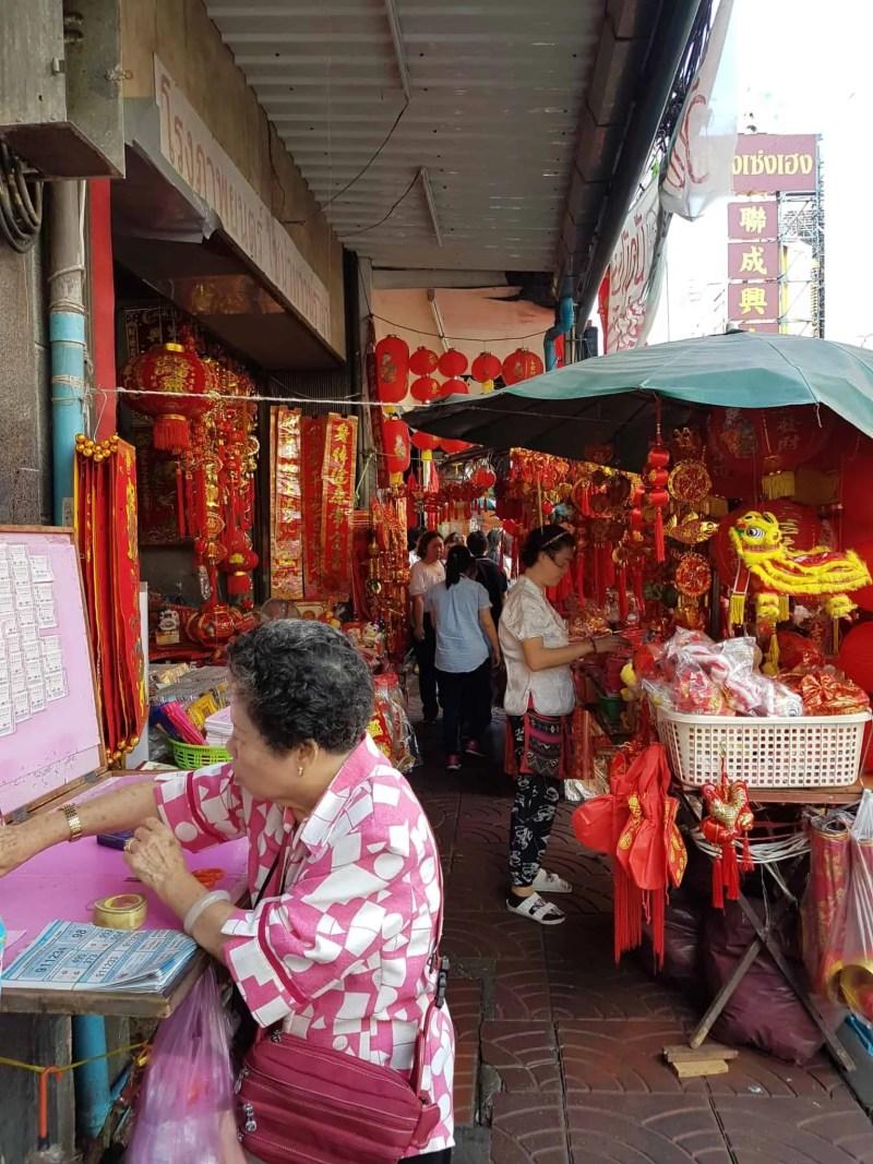 Thaïlande, marché aux fleurs et quartier Chinois de Bangkok 🎎 6