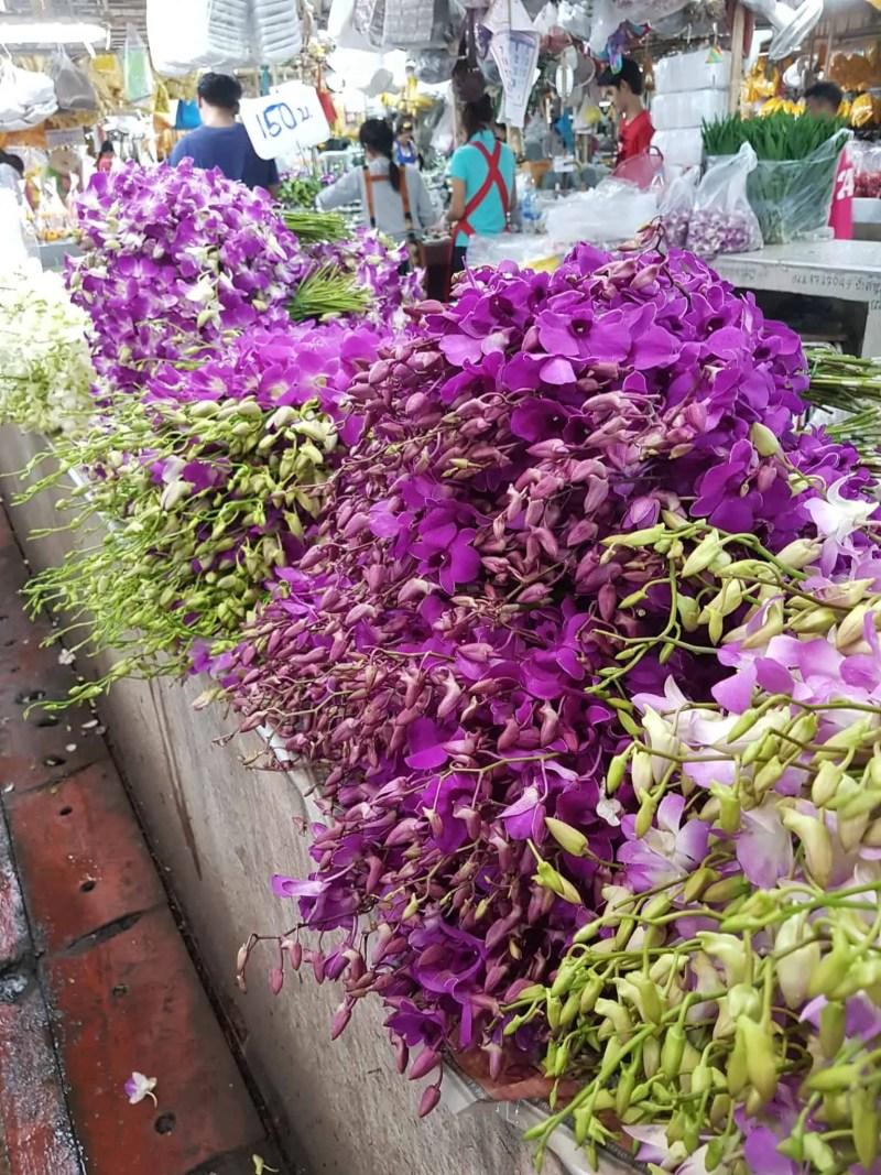 Thaïlande, marché aux fleurs et quartier Chinois de Bangkok 🎎 20
