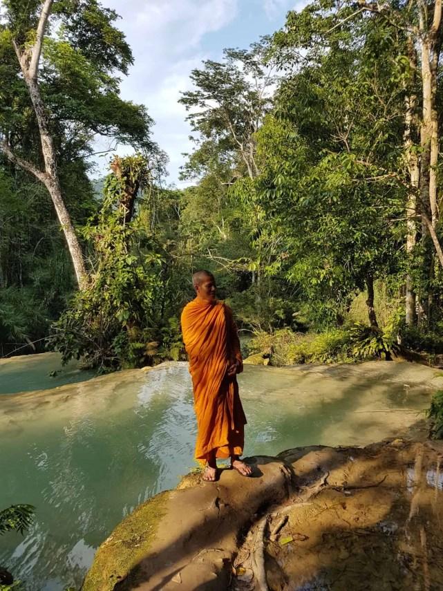 Laos, Kuang Si Waterfall une cascade à couper le souffle 👙 9