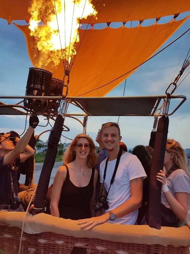 Laos, un vol en montgolfière au dessus de Vang Vieng riche en émotions 🎈 4