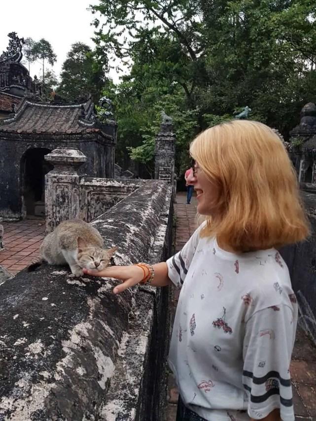 Vietnam, scotchés devant la beauté du mausolée de l'empereur Khai Dinh ⚰ 26