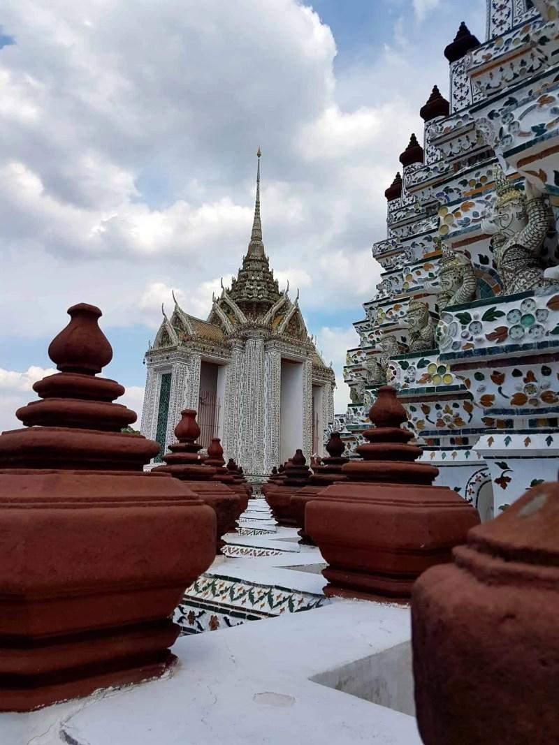 Thaïlande, visite du Wat Arun avant de monter dans l'avion qui nous ramène en France 💔✈ 7