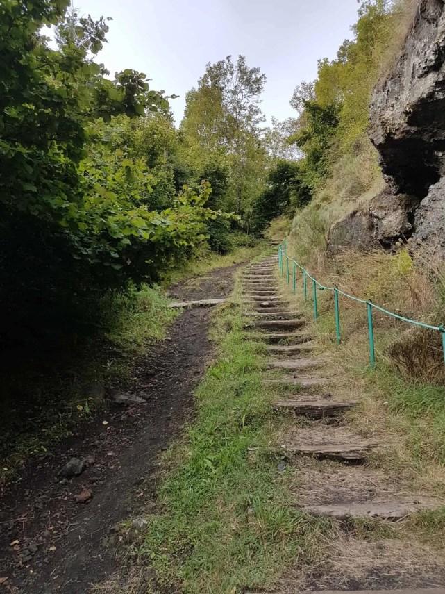 Chemin de Compostelle, au sommet de la Tour des Anglais de Saugues 🏰 4
