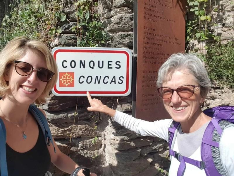 Chemin de Compostelle, nous arrivons à Conques après 204 km parcourus 😁 19