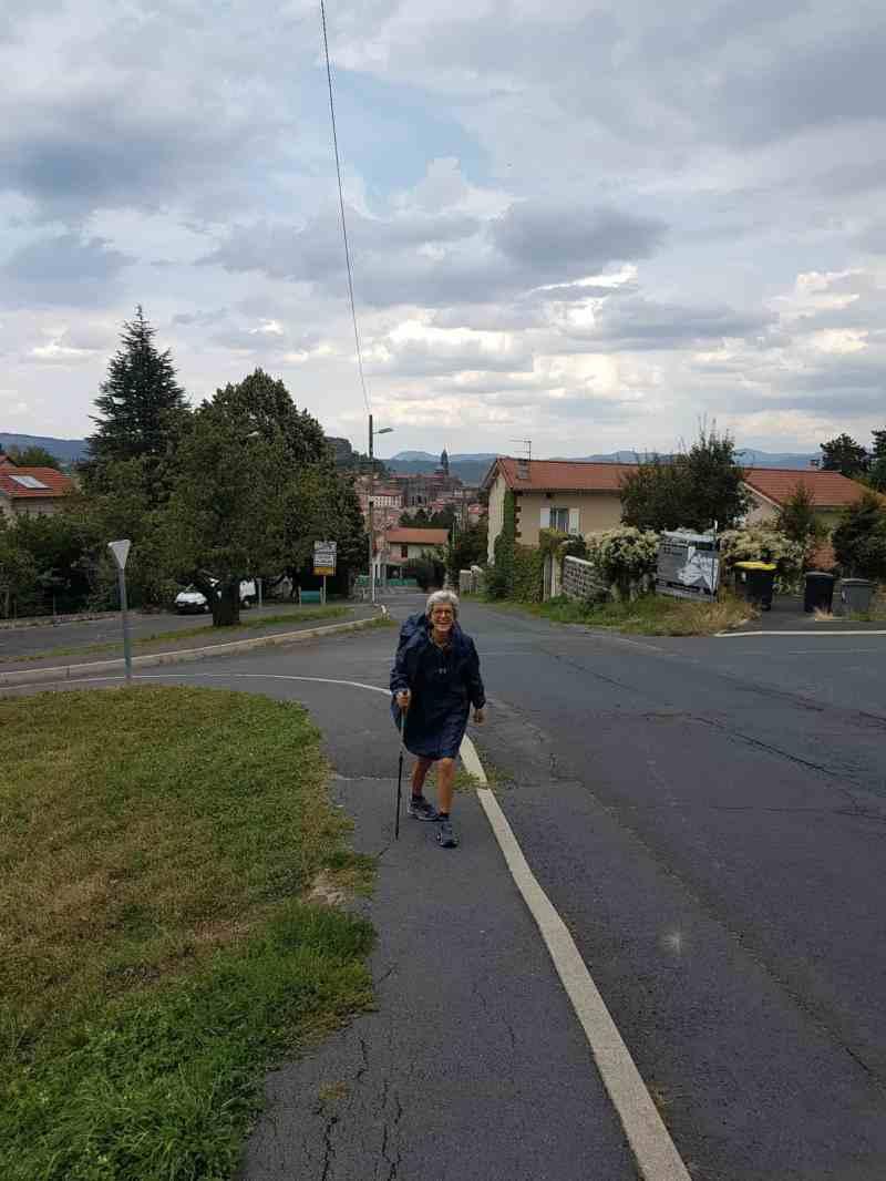 Chemin de Compostelle, un démarrage pluvieux vers Tallode ⛈ 7