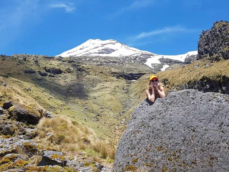 Nouvelle-Zélande, rando Holly Hut Track avec vue sur le Mont Taranaki ❤ 11