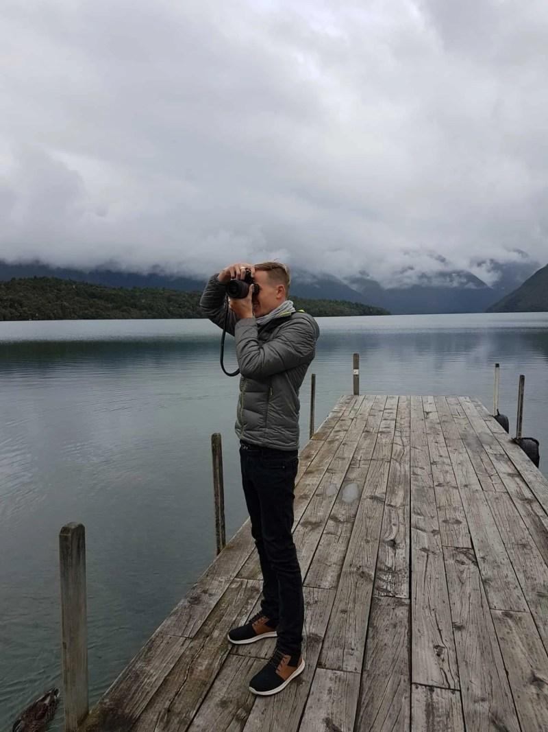 Nouvelle-Zélande, le paisible lac Saint Arnaud 🌥 5