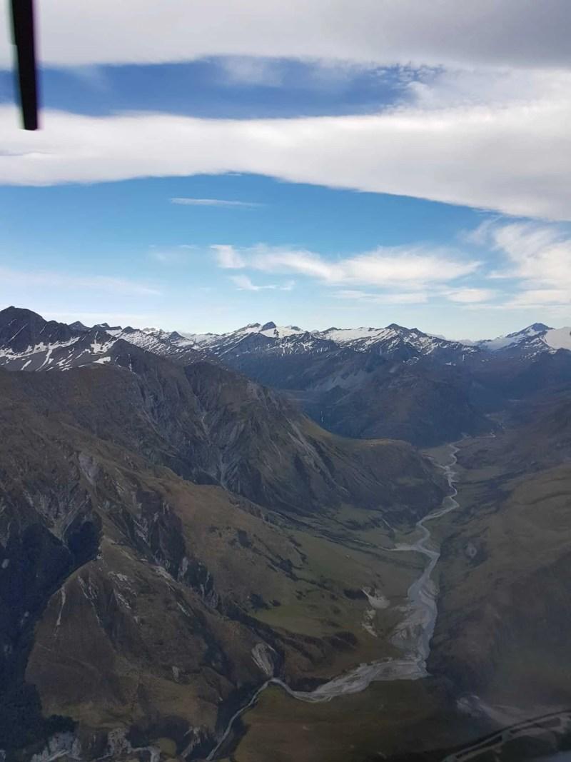 Nouvelle-Zélande, un tour en hélico au dessus de Queenstown qui nous en met plein les yeux ! 🚁 10