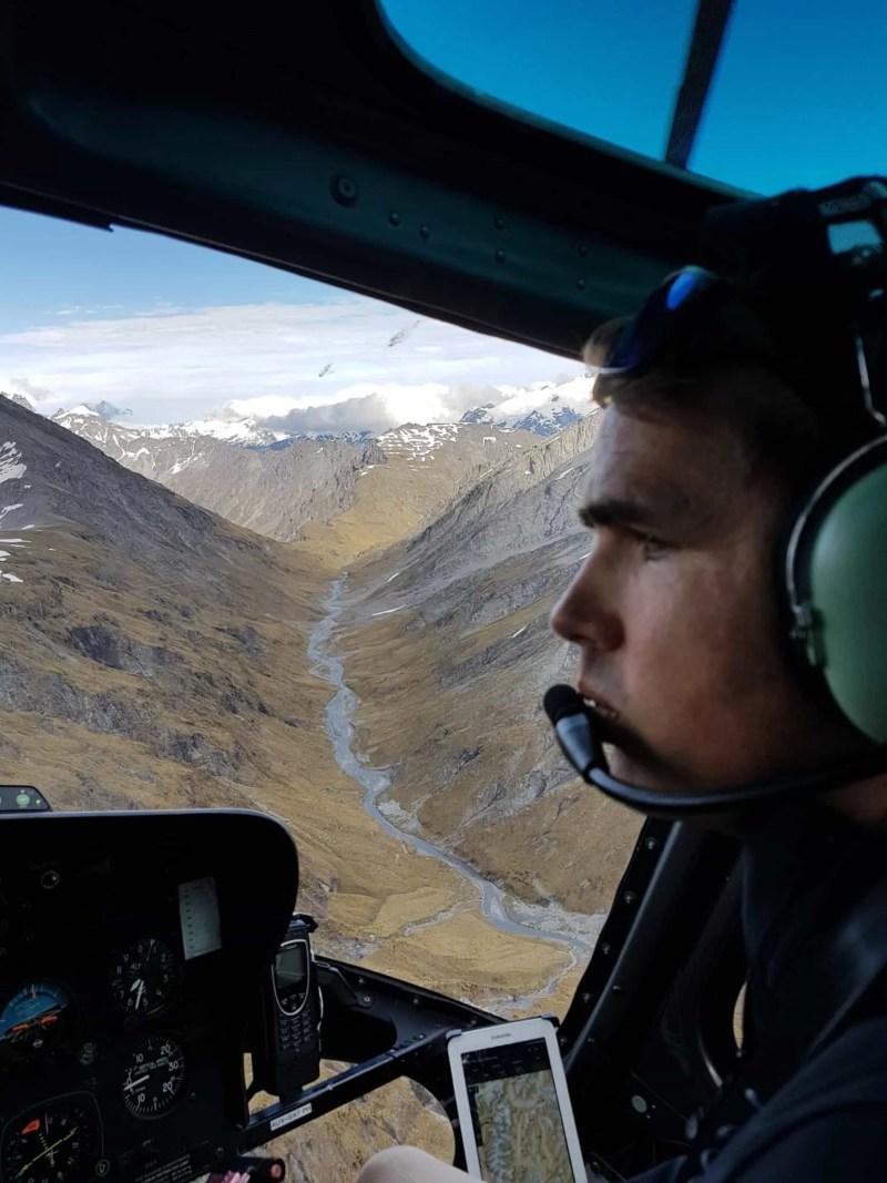 Nouvelle-Zélande, un tour en hélico au dessus de Queenstown qui nous en met plein les yeux ! 🚁 12