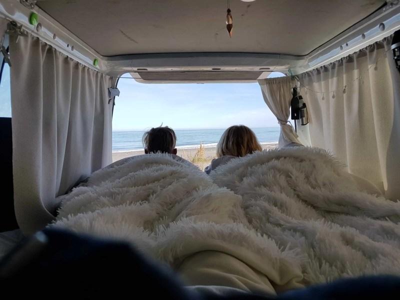 voyager en van en Nouvelle-Zélande
