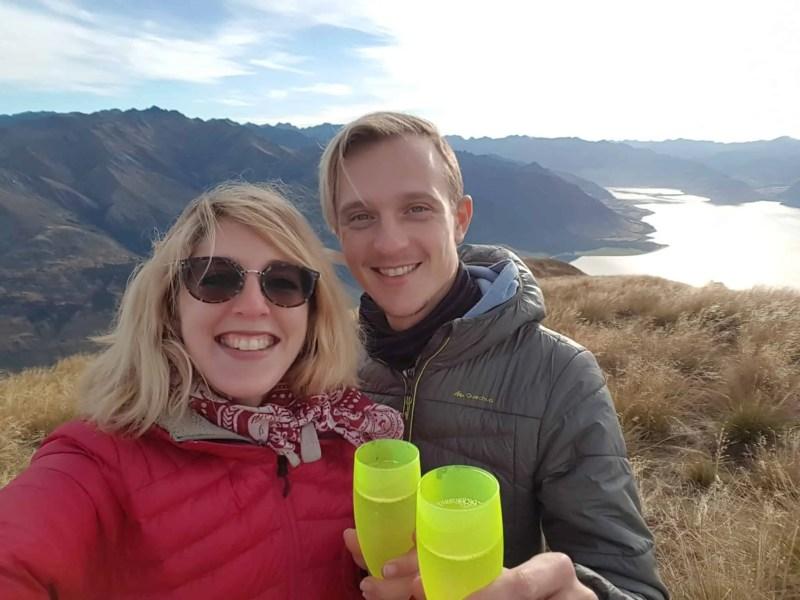 Nouvelle-Zélande, un magnifique lever de soleil depuis Isthmus Peak pour mes 30 ans 🎁 8