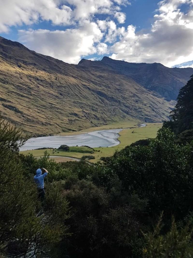 Nouvelle-Zélande, randonnée vers le Rob Roy Glacier et son sommet enneigé ❄ 21