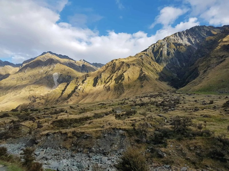Nouvelle-Zélande, randonnée vers le Rob Roy Glacier et son sommet enneigé ❄ 23