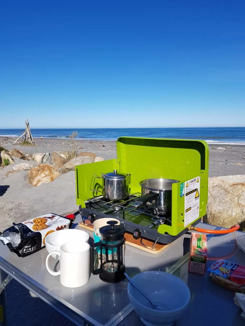 camping en Nouvelle-zélande
