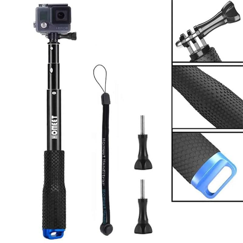 Perche selfie pour GoPro étanche