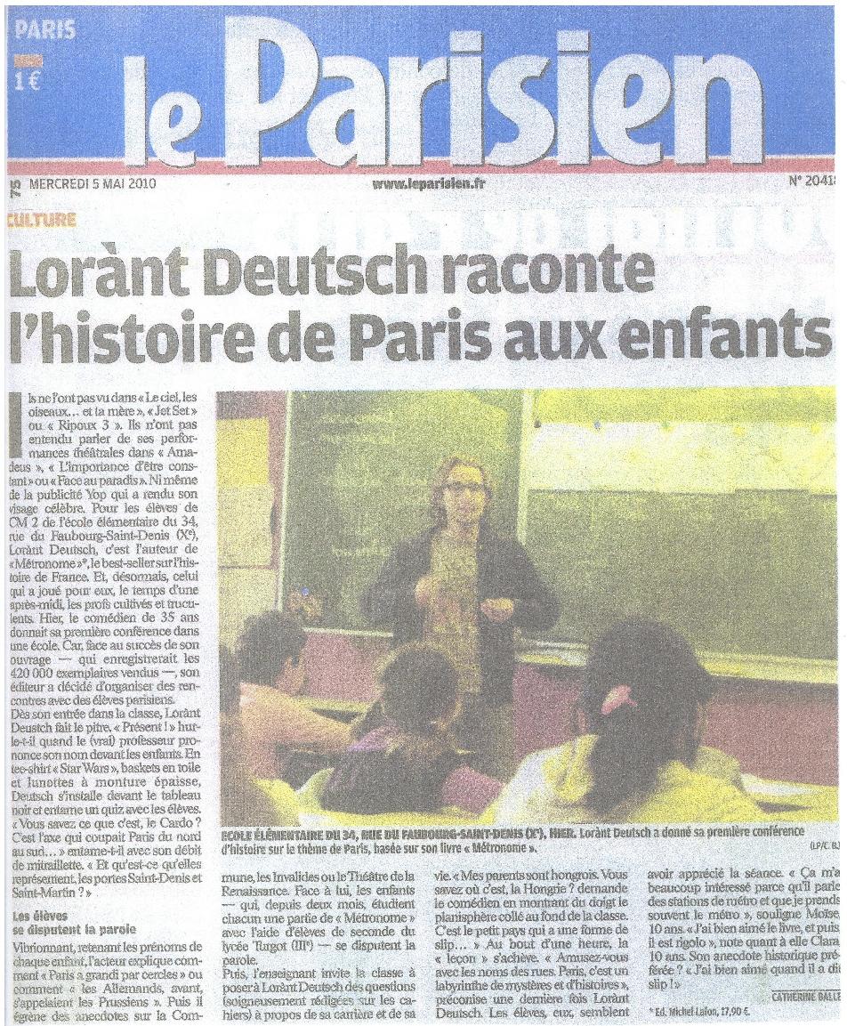 Lorànt_deutsch_ecole_paris_Parisien
