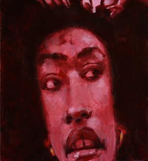 portrait of African American female