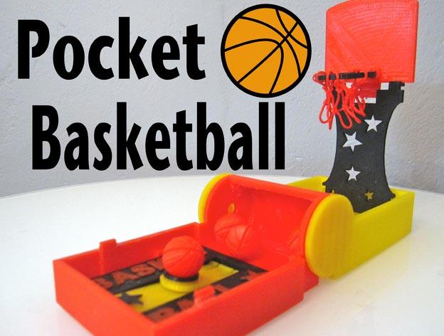 Mini Jeux De Basket Imprims En 3D