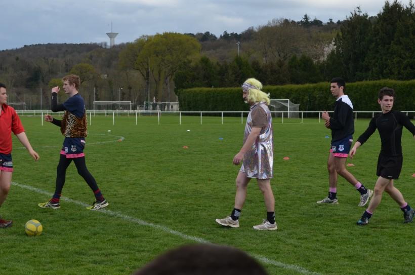 Un rugbyman méconnaissable