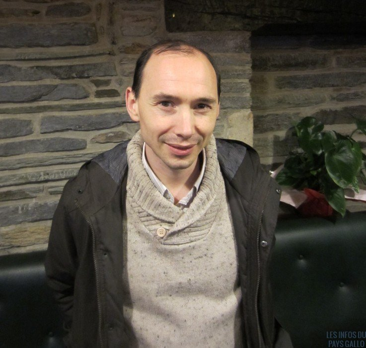Cédric André, référent sur le secteur de Malestroit